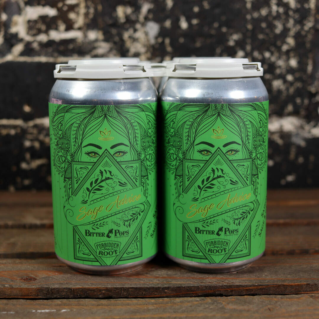 Forbidden Root Sage Advice Saison w/Sage 12 FL. OZ. 4PK Cans