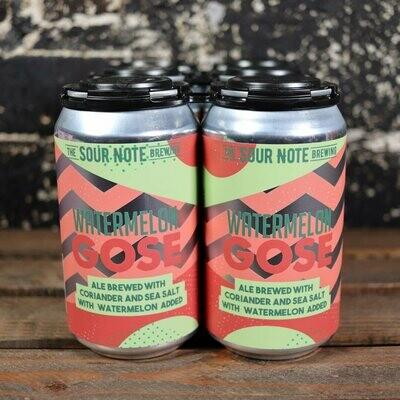 Sour Note Watermelon Gose 12 FL. OZ. 6PK Cans