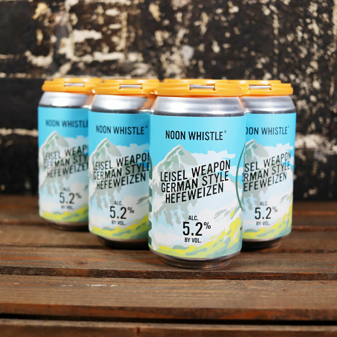 Noon Whistle Leisel Weapon Hefeweizen 12 FL. OZ. 6PK Cans