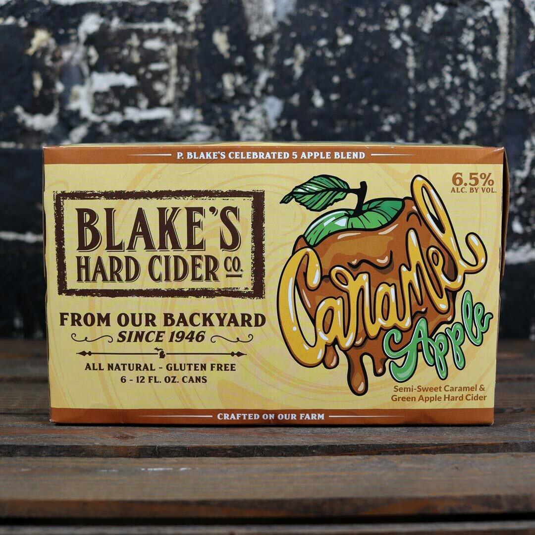 Blake's Cider Caramel Apple 12 FL. OZ. 6PK Cans