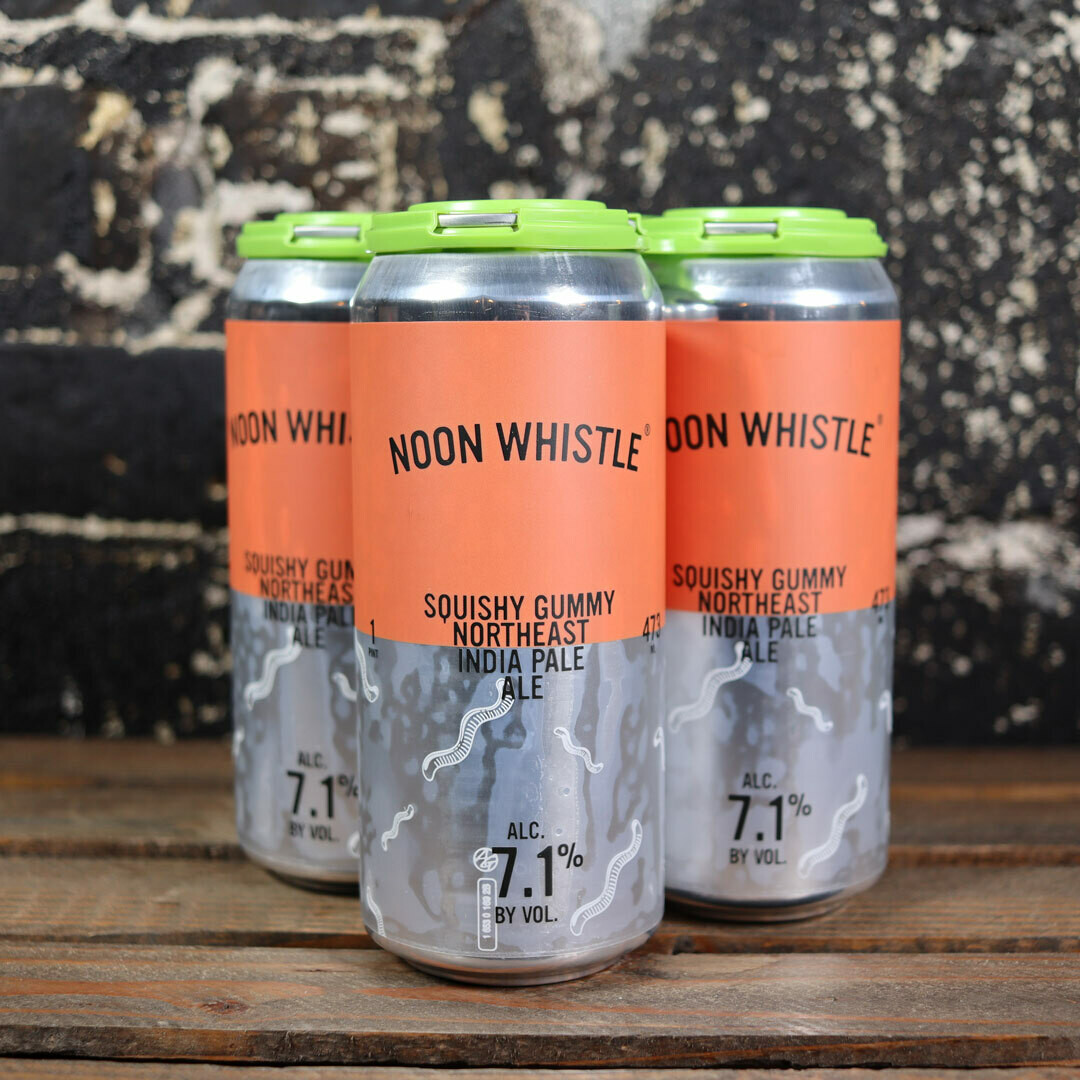 Noon Whistle Squishy Gummy NEIPA 16 FL. OZ. 4PK Cans