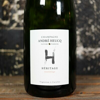 Andre Heucq Heritage Assemblage Extra Brut Champagne France 750ml.