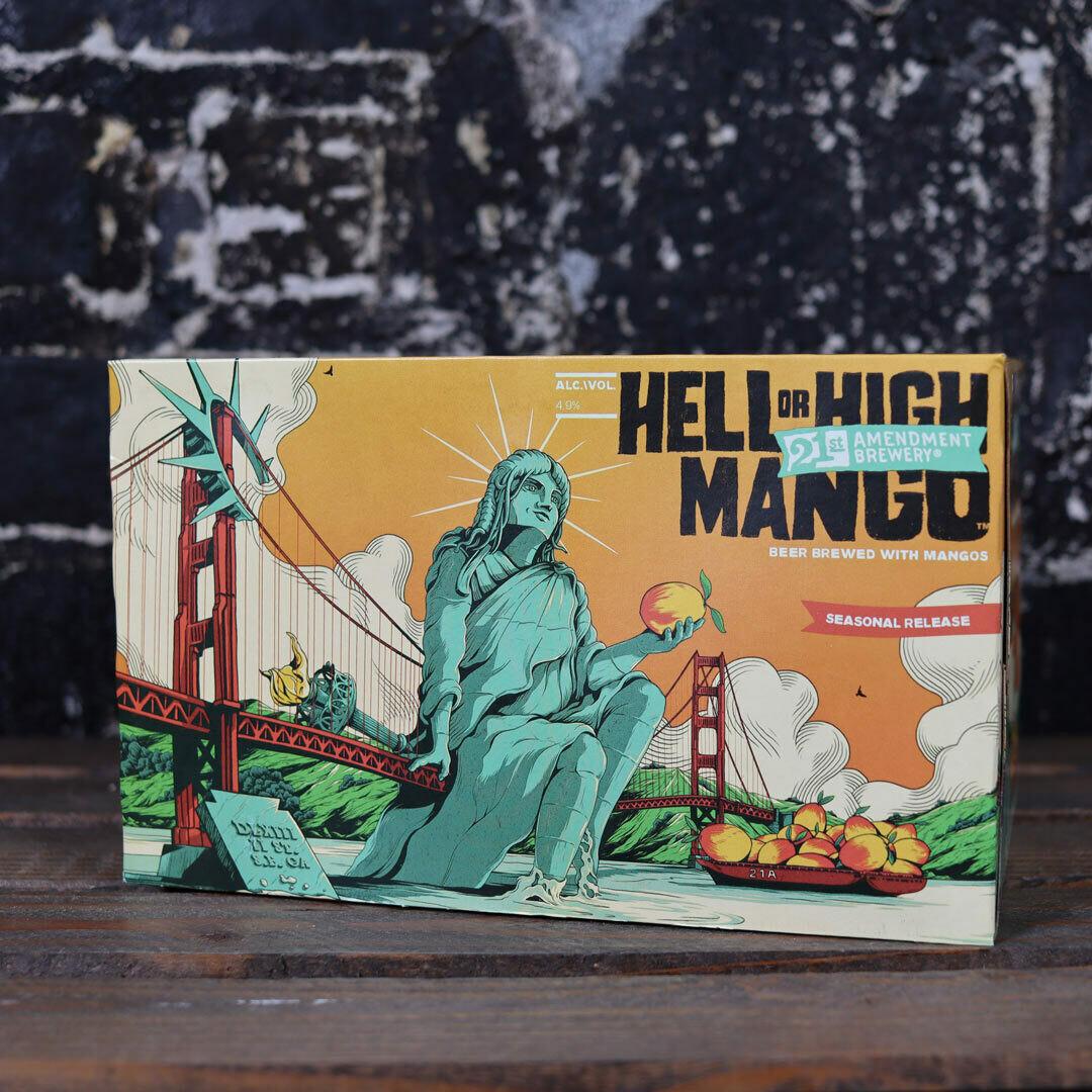 21st Amendment Hell Or High w/Mango 12 FL. OZ. 6PK Cans