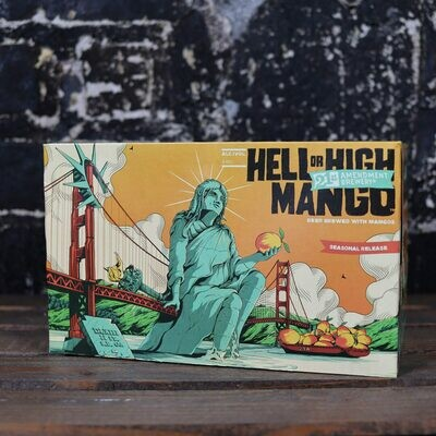 21st Amendment Hell Or High w/Mango 12 FL. OZ. 6PK Cans