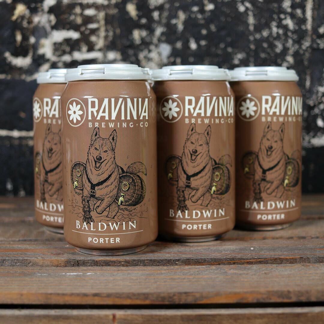 Ravinia Baldwin Porter 12 FL. OZ. 6PK Cans