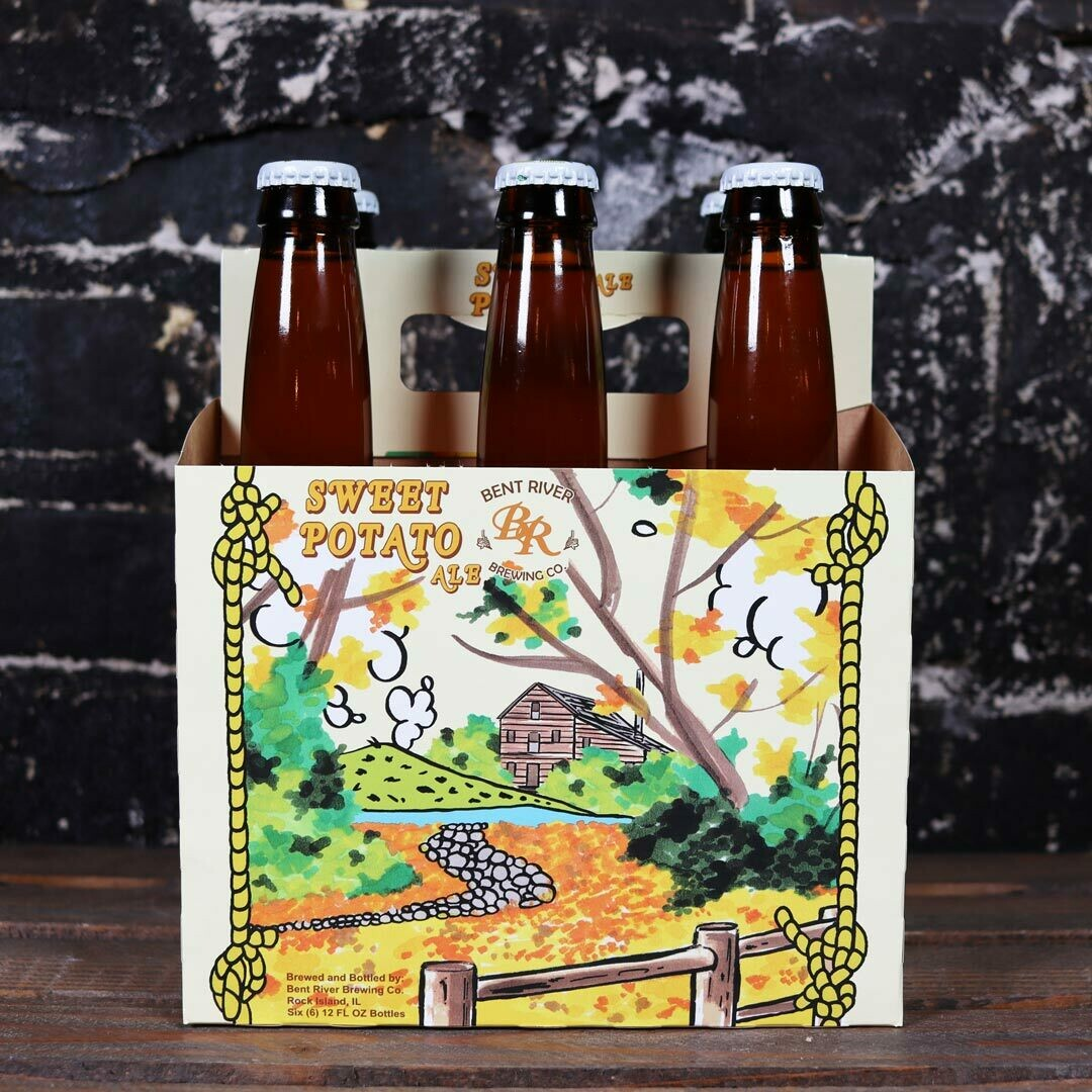 Bent River Sweet Potato Ale 12 FL. OZ. 6PK