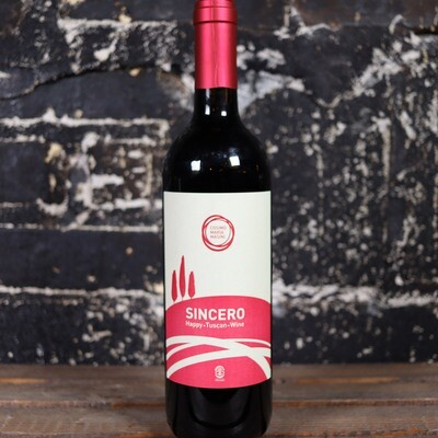 Cosimo Maria Masini Sincero Happy Tuscan Red Italy 750ml.