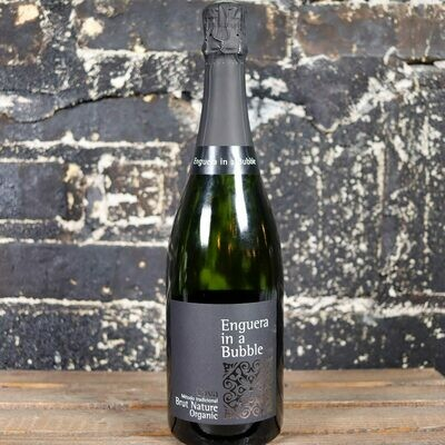 Enguera in a Bubble Nature Organic Brut Cava Spain 750ml.