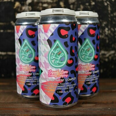 Liquid Love Gaudy Apartment Complex Sour IPA 16 FL. OZ. 4PK Cans