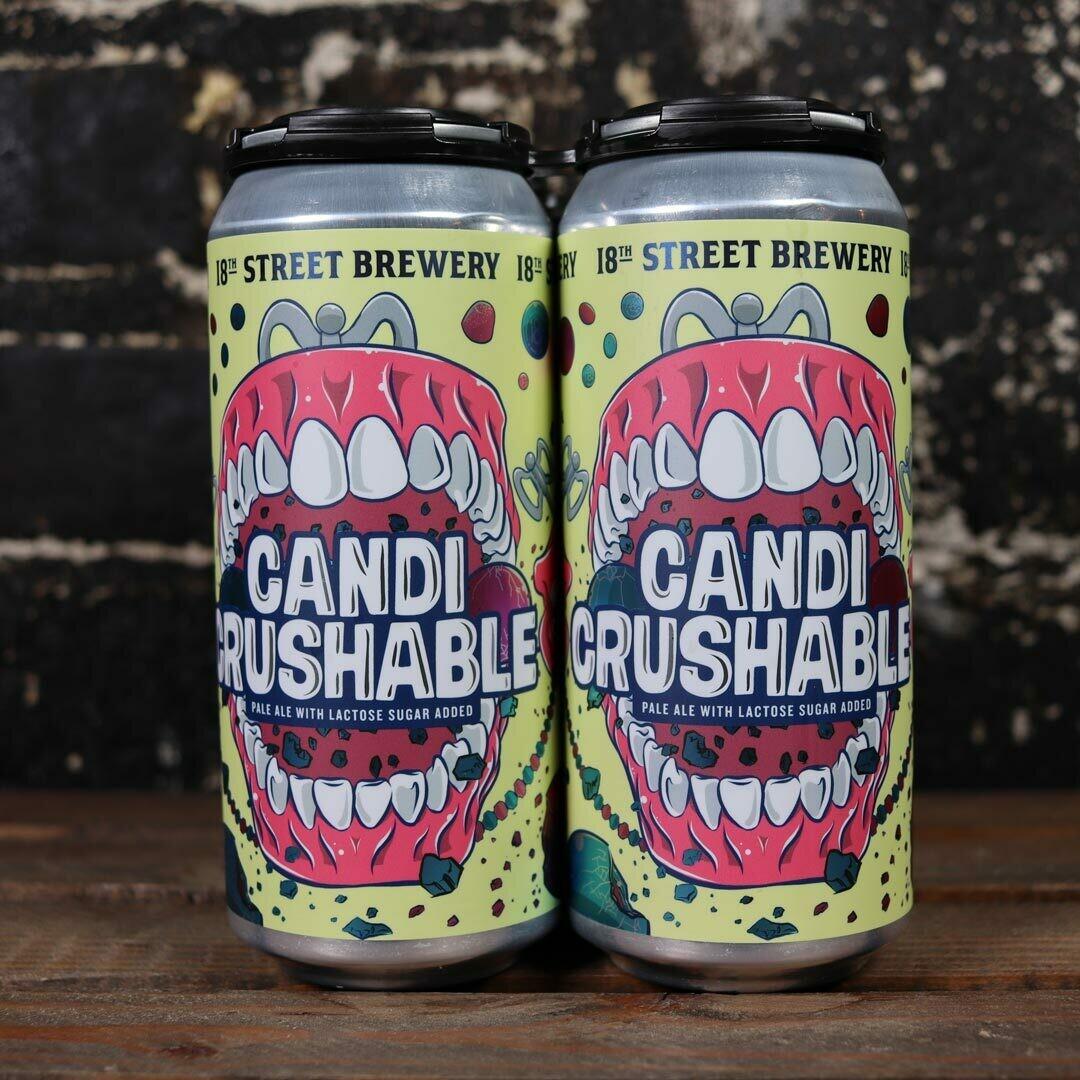 18th Street Candi Crushable Pale Ale 16 FL. OZ. 4PK Cans