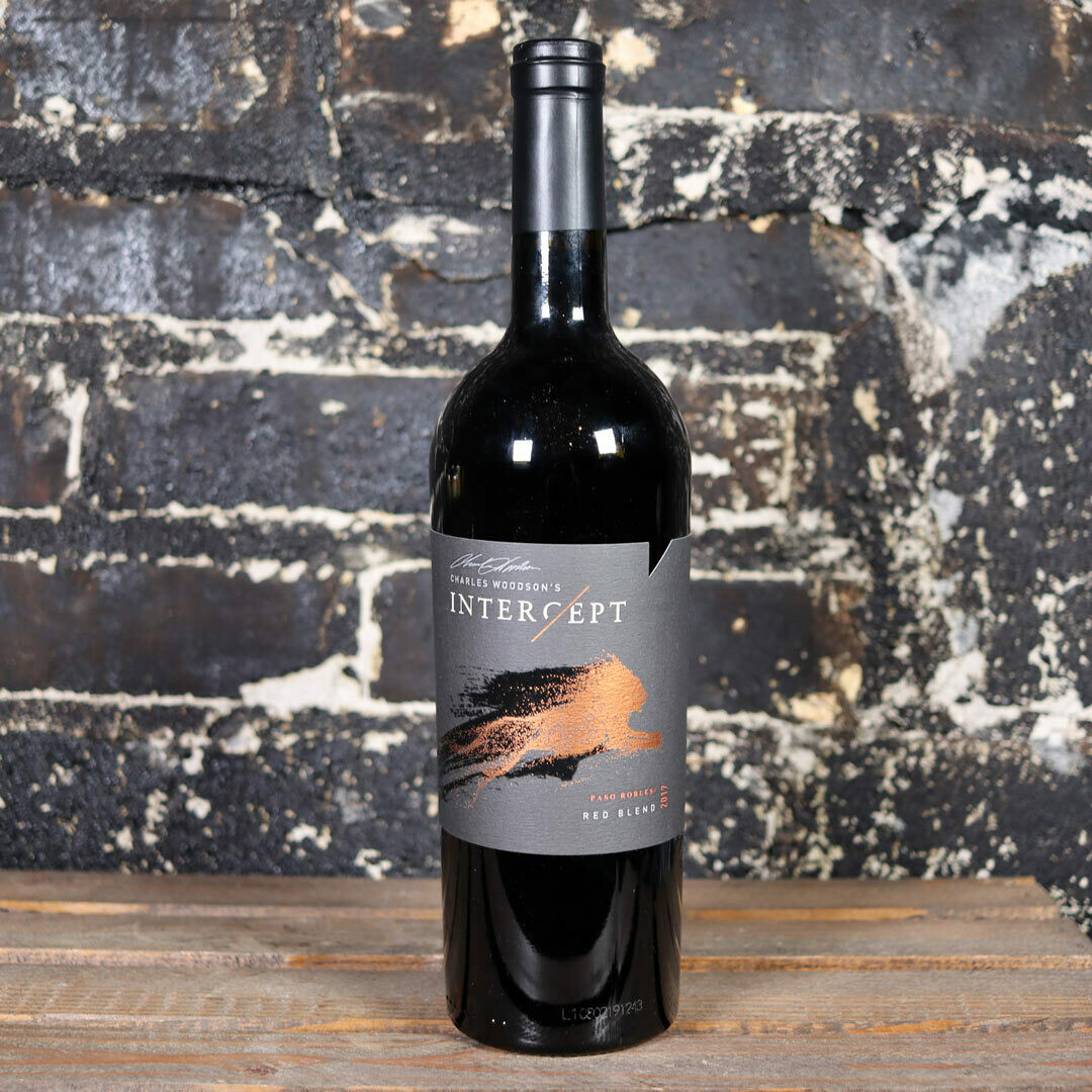Charles Woodson's Intercept Red Blend Paso Robles California 750ml.