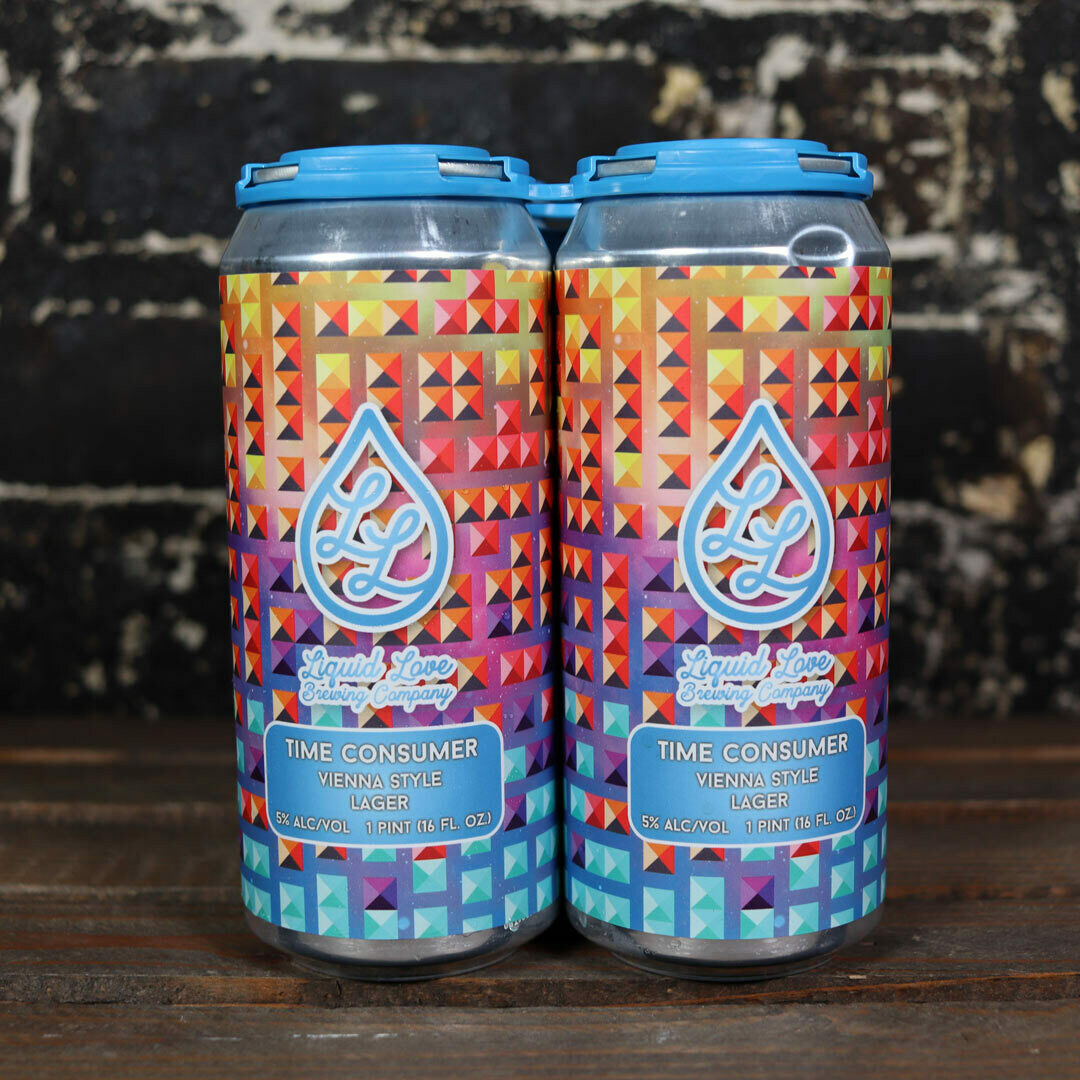 Liquid Love Time Consumer Vienna Style Lager 16 FL. OZ. 4PK Cans