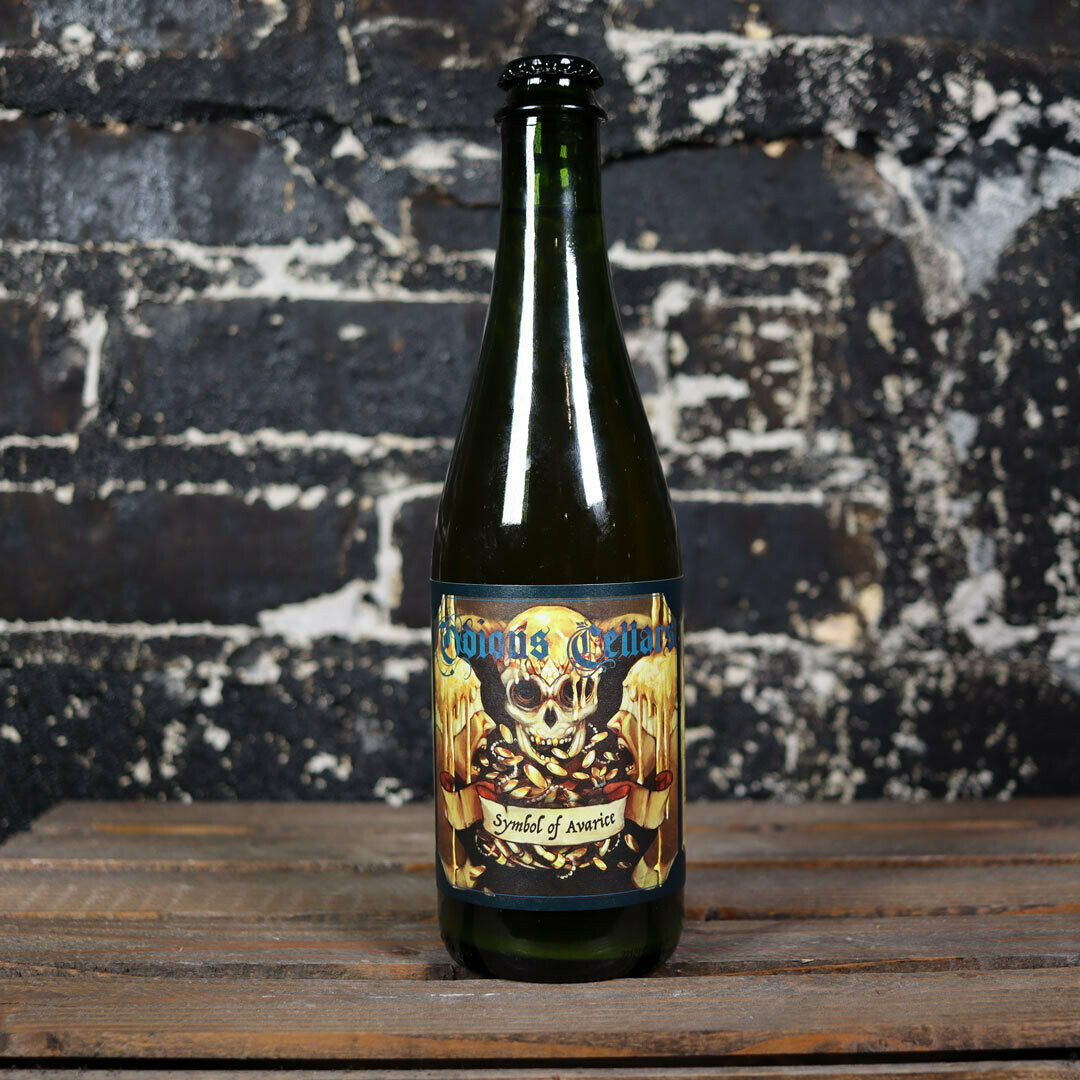 Odious Cellars Symbol Of Avarice Aged Golden Sour Ale 500 mL