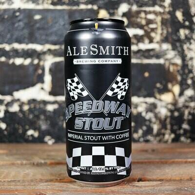 Ale Smith Speedway Stout w/Coffee 16 FL. OZ. Can