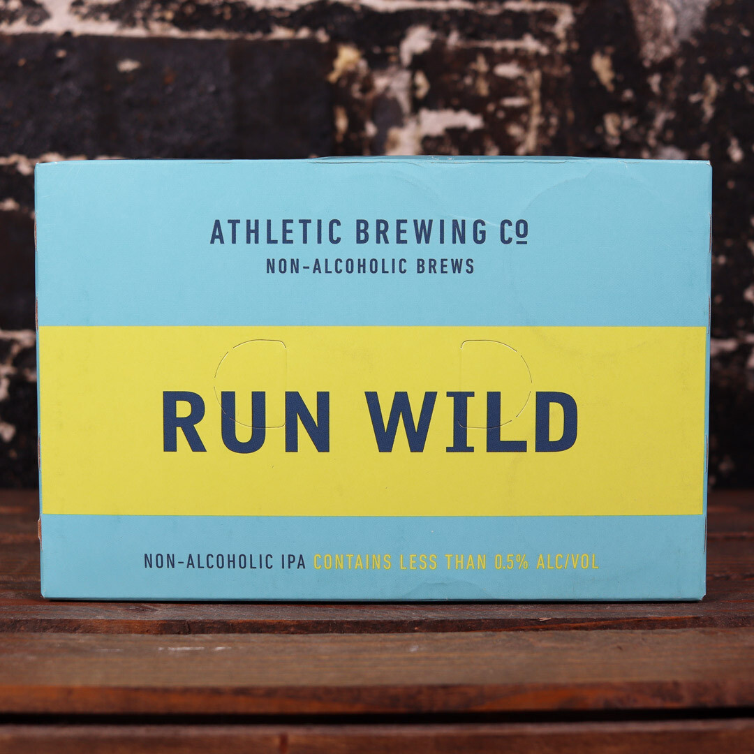 Athletic Run Wild N/A IPA 12 FL. OZ. 6PK Cans