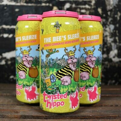 Twisted Hippo The Bee's Sleaze 16 FL. OZ. 4PK Cans