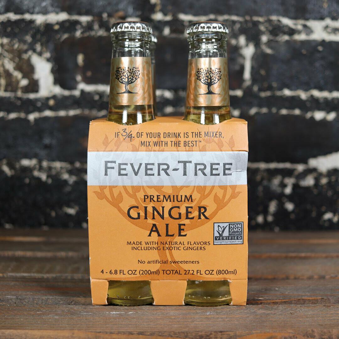 Fever Tree Premium Ginger Ale 200ml. 4PK