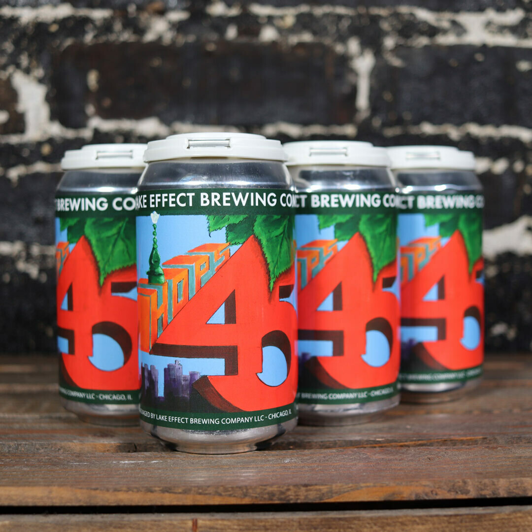 Lake Effect Brewing Hops 45 Pale Ale 12 FL. OZ. 6PK Cans