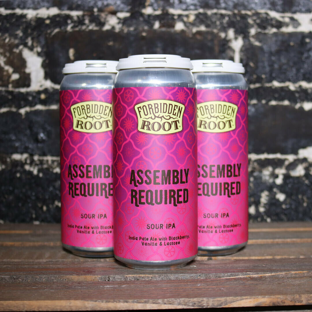 Forbidden Root Assembly Required Sour IPA 16 FL. OZ. 4PK Cans