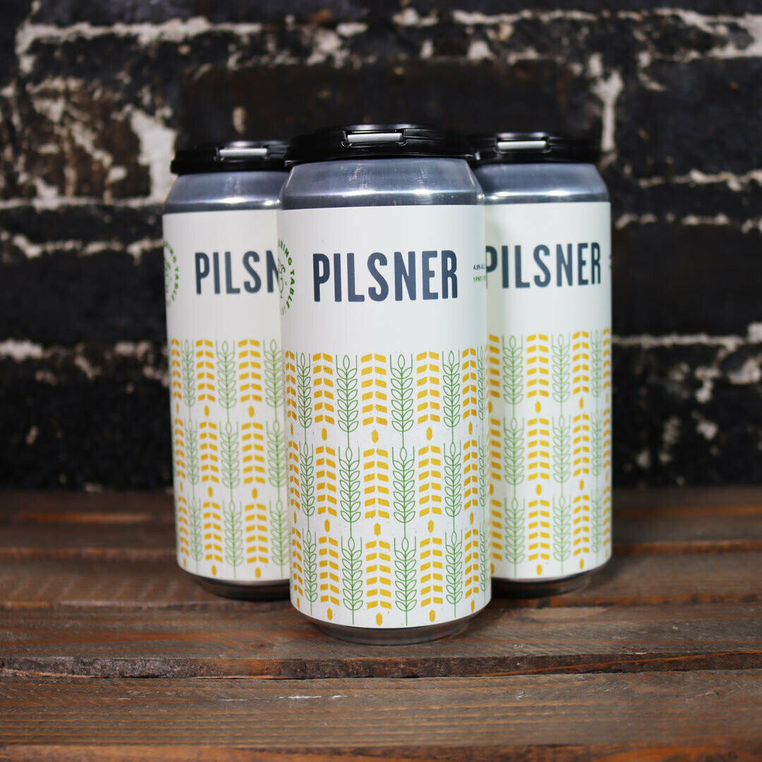 Roaring Table Pilsner 16 FL. OZ. 4PK Cans