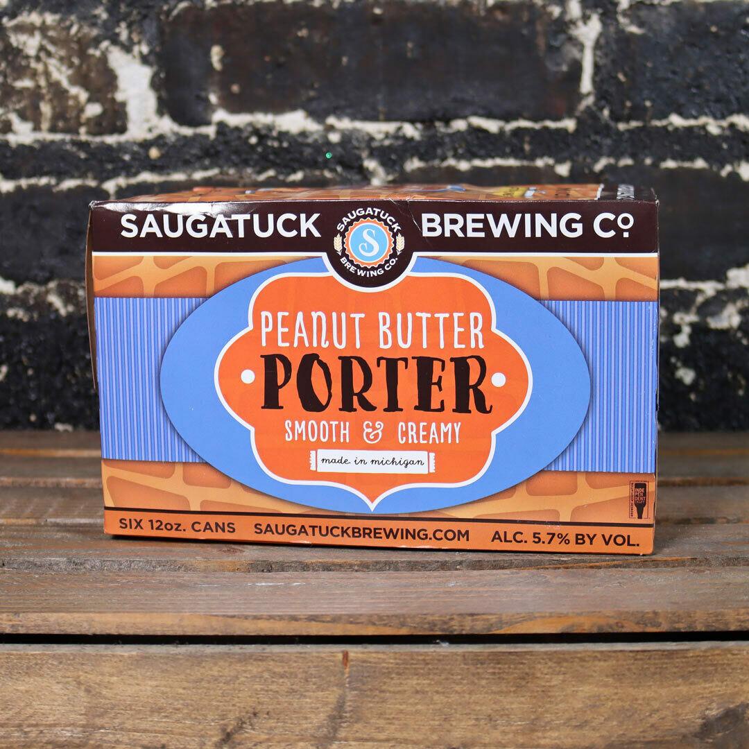 Saugatuck Peanut Butter Porter 12 FL. OZ. 6PK Cans