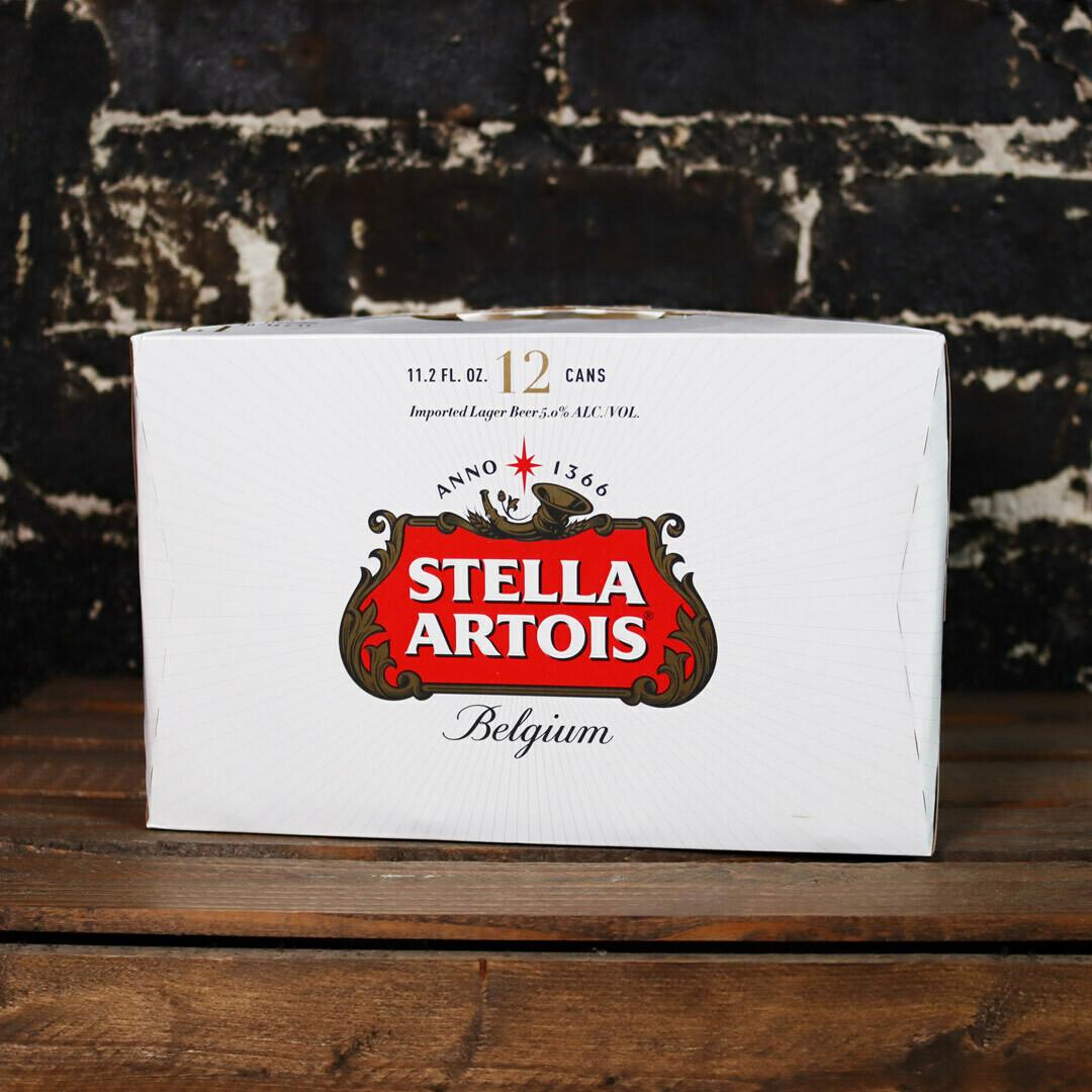 Stella Artois 11.2 FL. OZ. 12PK Cans