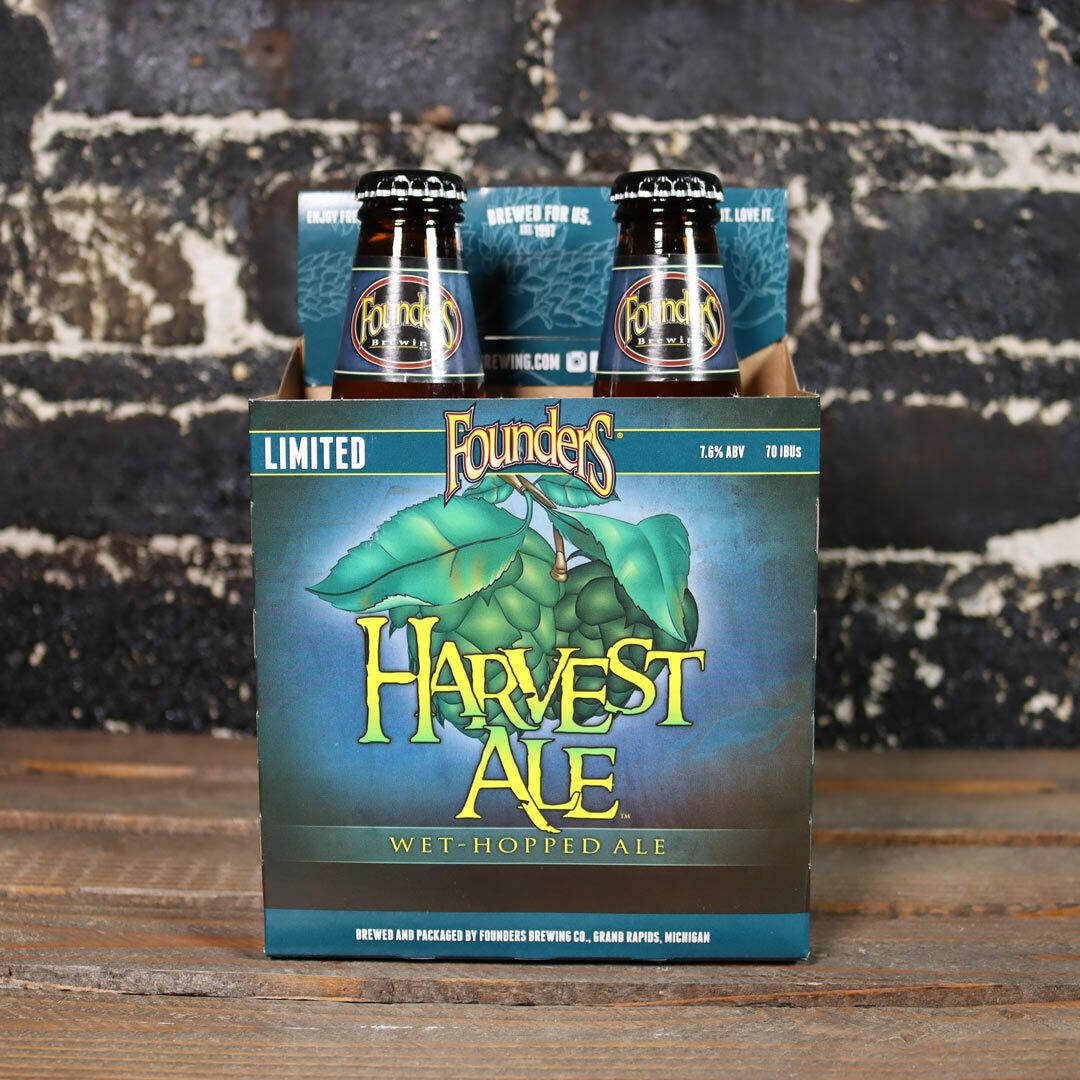 Founders Harvest Wet-Hopped Ale 12 FL. OZ. 4PK