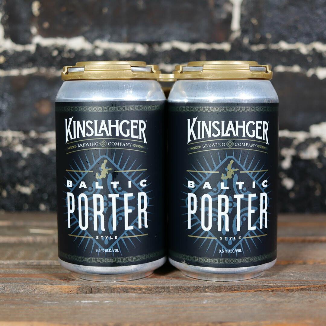 Kinslahger Baltic Porter 12 FL. OZ. 4PK Cans