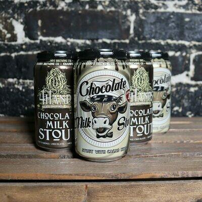 4 Hands Chocolate Milk Stout 12 FL. OZ. 6PK Cans