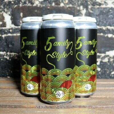 Double Nickel Family Style DDH Triple IPA 16 FL. OZ. 4PK Cans