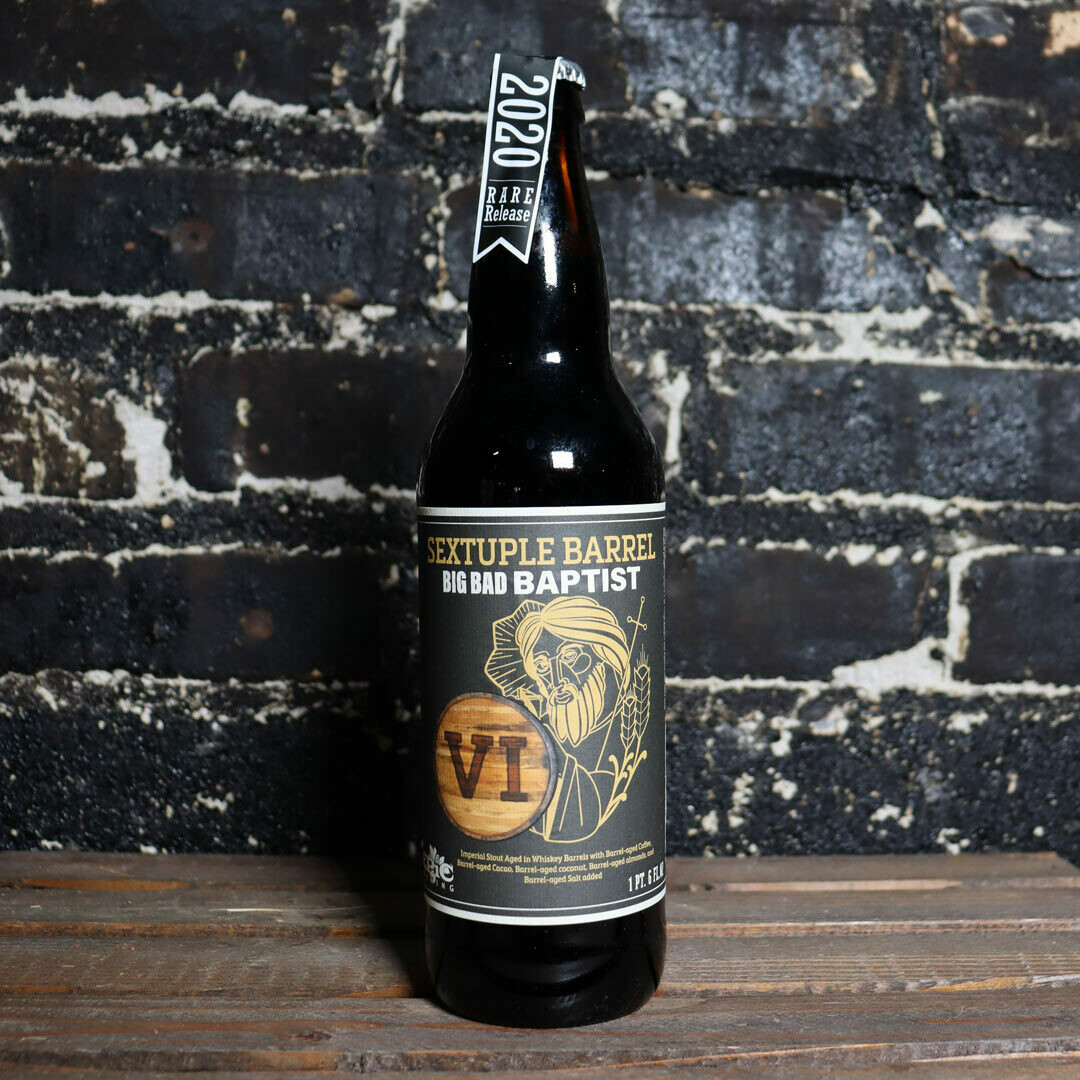 Epic 2020 Big Bad Baptist Sextuple Barrel BA Imp. Stout 22 FL. OZ.
