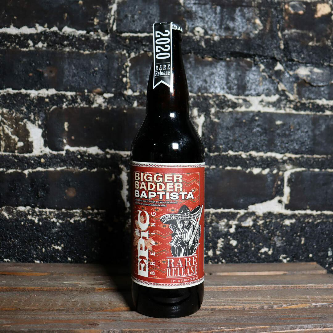 Epic 2020 Bigger Badder Baptista BA Imp. Stout 22 FL. OZ.