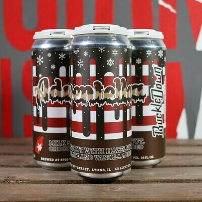 Buckledown Adventella Milk Stout 16 FL. OZ. 4PK Cans