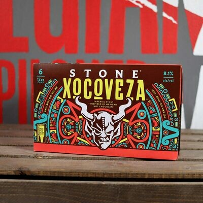 Stone Xocoveza Imperial Mexican Hot Chocolate Stout 12 FL. OZ. 6PK Cans