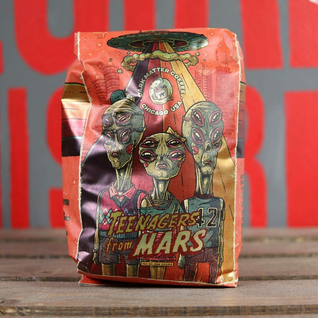 Dark Matter Teenagers From Mars Whole Bean Coffee 12oz Bag