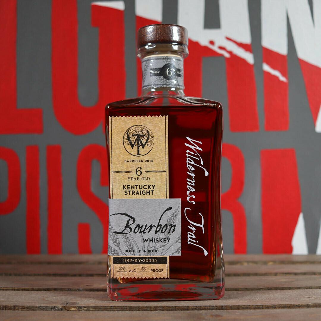 Wilderness Trail Bourbon Whiskey Bottled In Bond 6 Yr. 750ml.