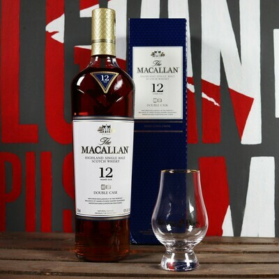 The Macallan 12Yr. Single Malt Scotch Whisky 750ml.