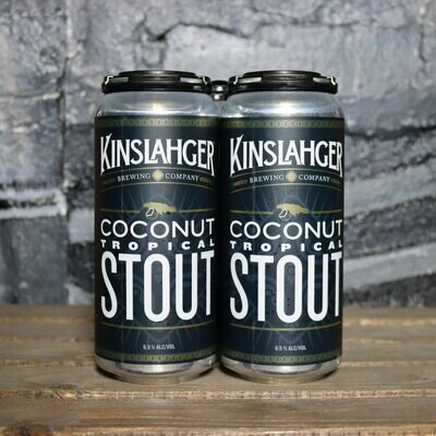 Kinslahger Tropical Stout 16 FL. OZ. 4PK Cans