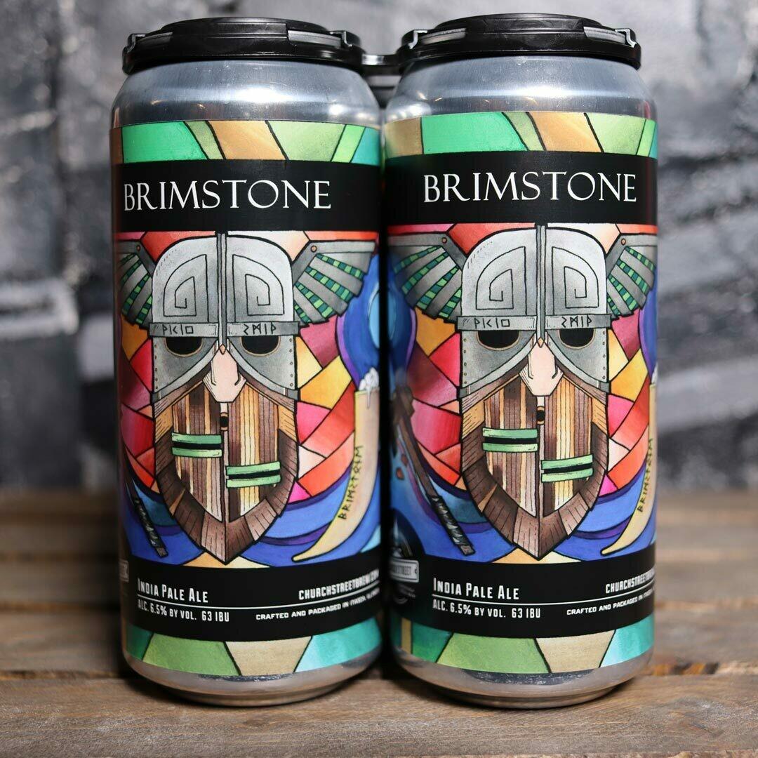 Church Street Brimstone IPA 16 FL. OZ 4PK Cans