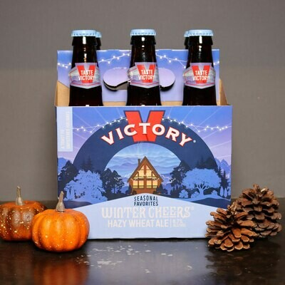 Victory Winter Cheers Hazy Wheat Ale 12 FL. OZ. 6PK