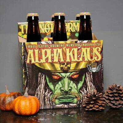 Three Floyds Alpha Klaus Christmas Porter 12 FL. OZ. 6PK