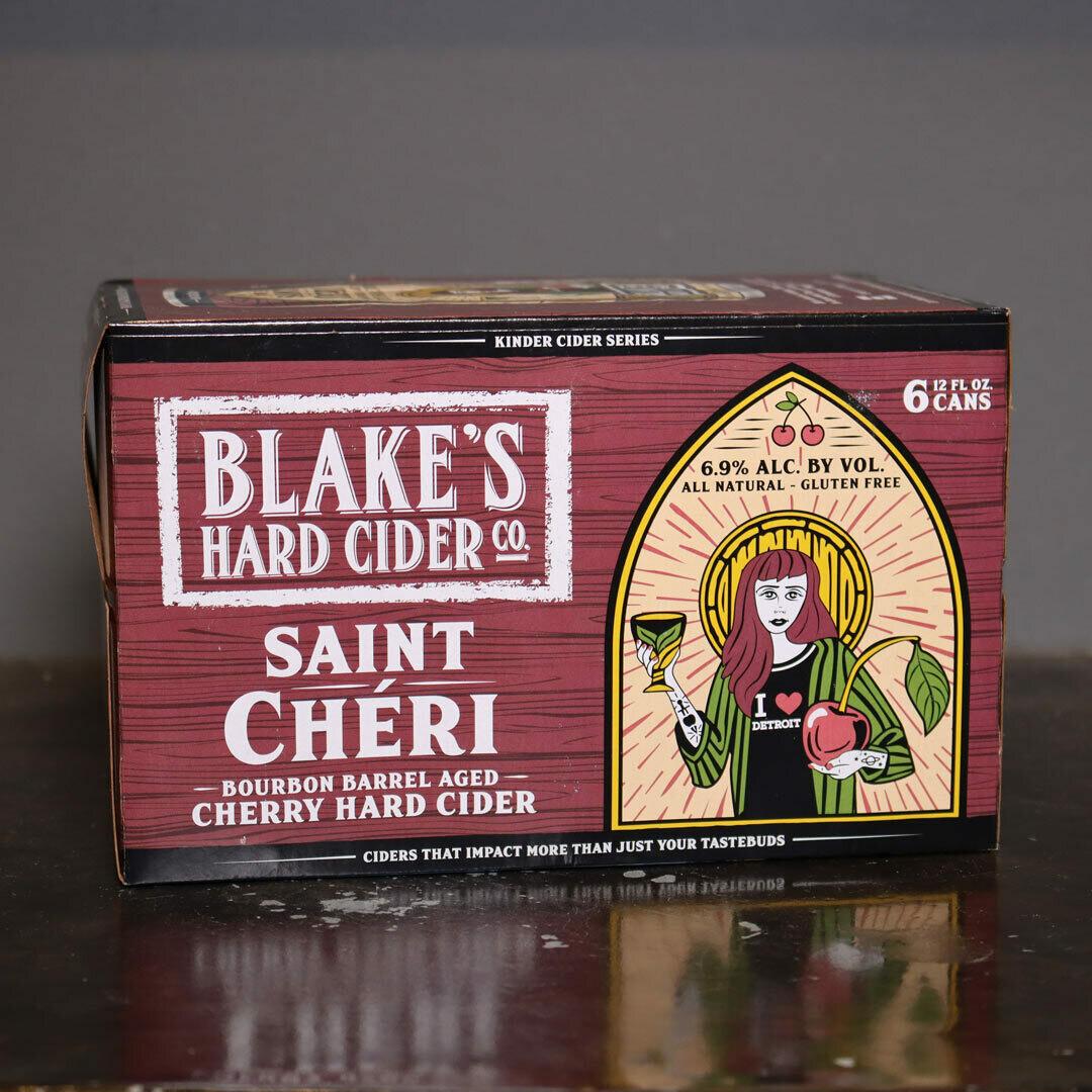 Blake's Cider Saint Cheri BBA Cherry Cider 12 FL. OZ. 6PK Cans