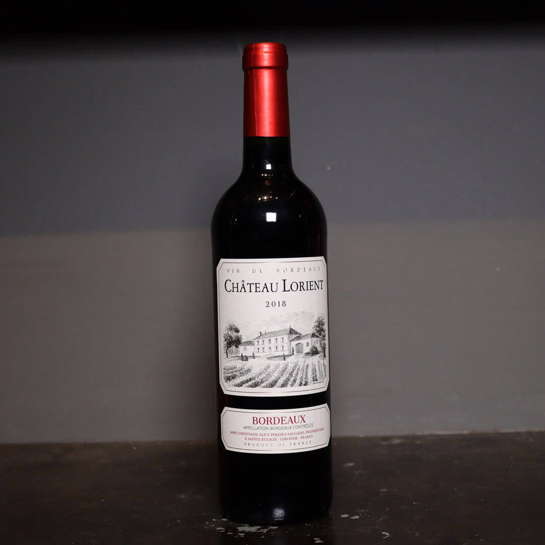 Chateau Lorient Bordeaux France 750ml.