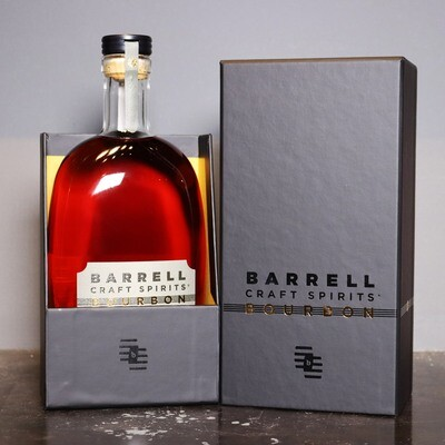 Barrell Craft Spirits Bourbon Whiskey 15 YR. Cask Strength 750ml.