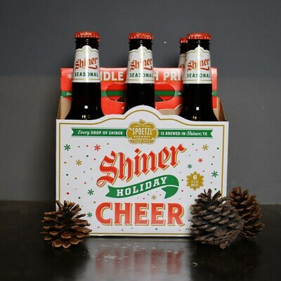 Shiner Holiday Cheer 12 FL. OZ. 6PK