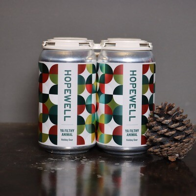 Hopewell Ya Filthy Animal Holiday Sour 12 FL. OZ. 4PK Cans