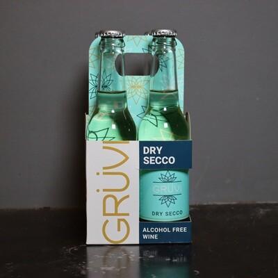 Gruvi Alcohol Free Dry Secco 12 FL. OZ. 4PK