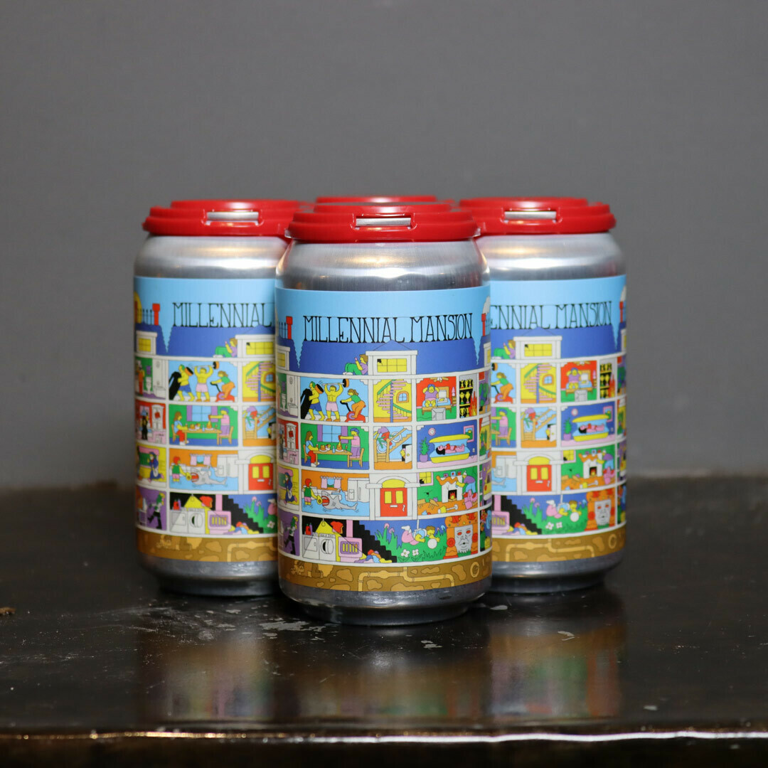 Prairie Millennial Mansion Imperial Sour Ale 12 FL. OZ. 4PK Cans