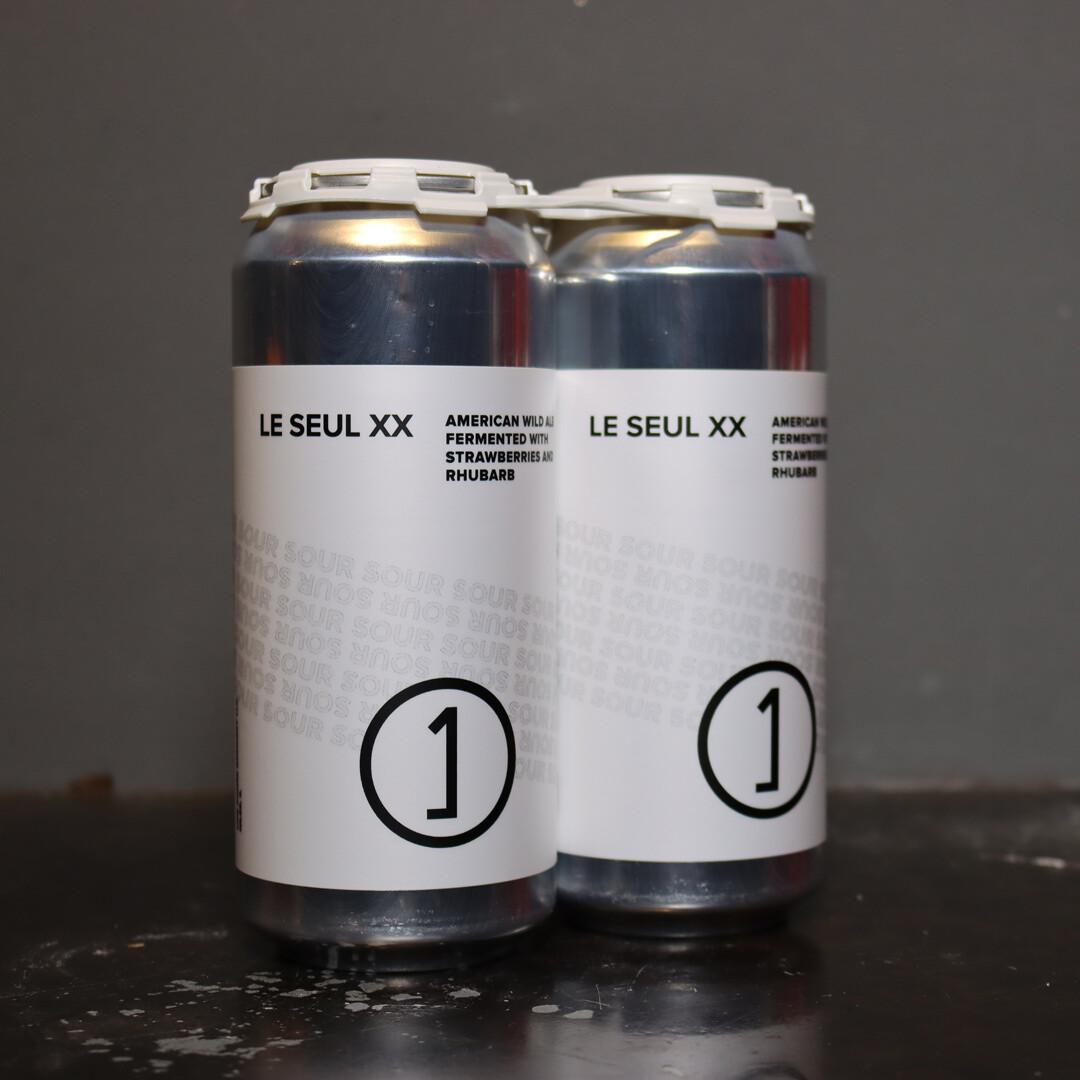 Une Annee Le Seul XX American Wild Ale w/Strawberries & Rhubarb 16 FL. OZ. 2PK Cans
