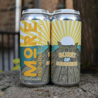 MORE Burst Of Sunshine DDH DIPA 16 FL. OZ. 4PK Cans